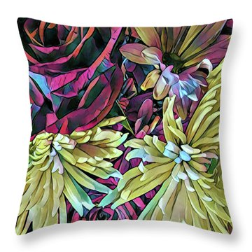 Complements Throw Pillow