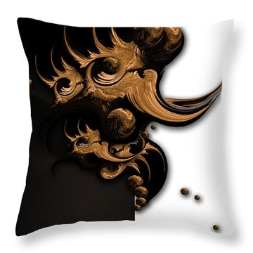 Complex Formation Throw Pillow