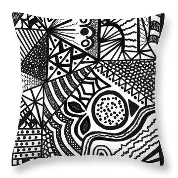 Complex Perception Throw Pillow