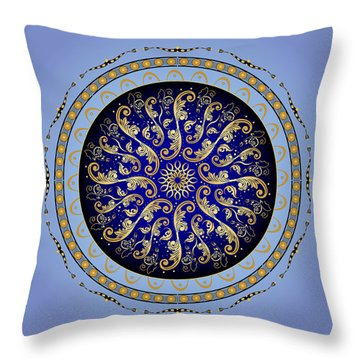 Complexical No. 1729 Throw Pillow by Alan Bennington