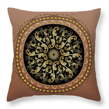 Complexical No 1731 Throw Pillow by Alan Bennington