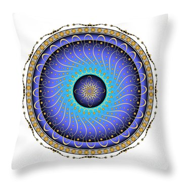Complexical No 1732 Throw Pillow by Alan Bennington