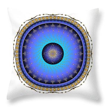Throw Pillow featuring the digital art Complexical No 1733 by Alan Bennington