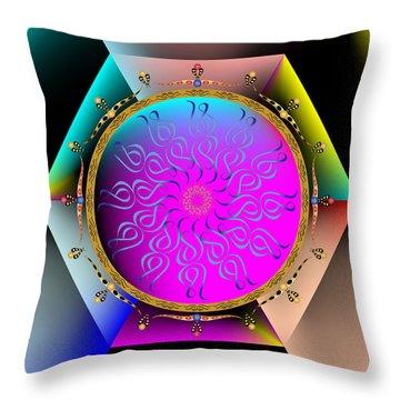 Complexical No 1821 Throw Pillow