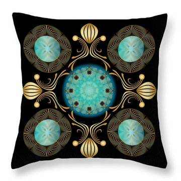 Complexical No 1832 Throw Pillow by Alan Bennington