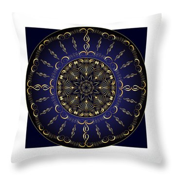 Complexical No 1851 Throw Pillow by Alan Bennington