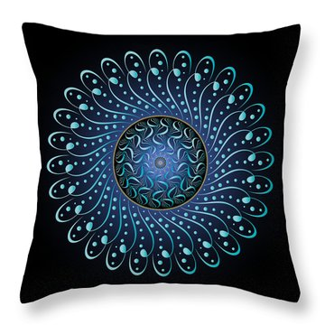 Complexical No 1893 Throw Pillow by Alan Bennington