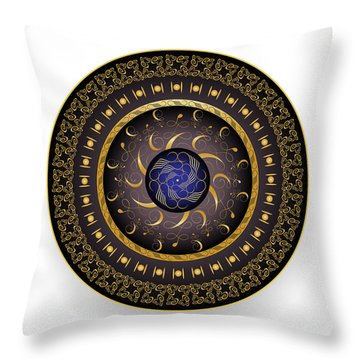 Complexical No 1922 Throw Pillow by Alan Bennington