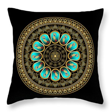 Complexical No 1992 Throw Pillow by Alan Bennington