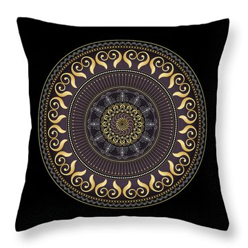 Complexical No 2031 Throw Pillow by Alan Bennington