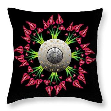 Complexical No 2075 Throw Pillow
