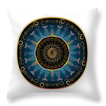 Complexical No 2139 Throw Pillow