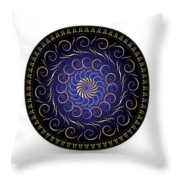 Complexical No 2170 Throw Pillow by Alan Bennington