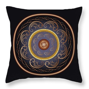Complexical No 2237 Throw Pillow by Alan Bennington