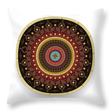 Complexical No 2243 Throw Pillow by Alan Bennington