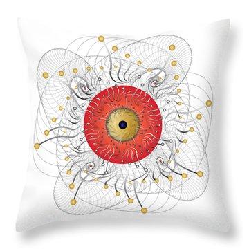 Complexical No 2324 Throw Pillow