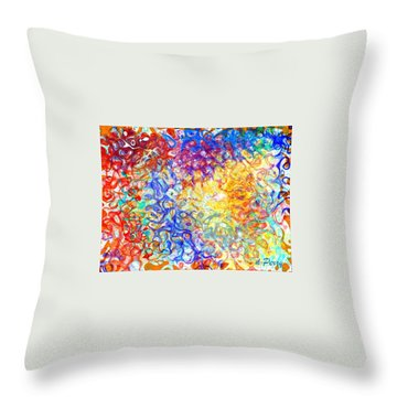 Complexities 5 Throw Pillow
