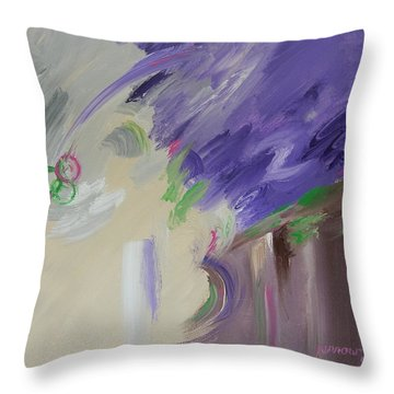 Complicated From Birth Throw Pillow by Sue Furrow