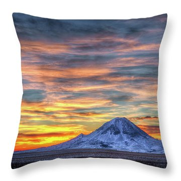 Complicated Sunrise Throw Pillow