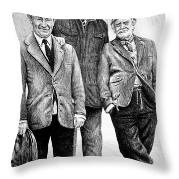 Compo Clegg And Foggy 2 Throw Pillow
