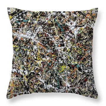 Composition #16 Throw Pillow