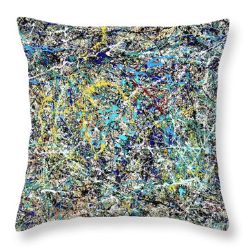 Composition #17 Throw Pillow