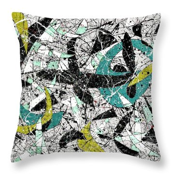Composition #18 Throw Pillow