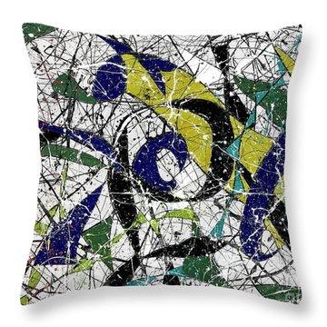 Composition #19 Throw Pillow