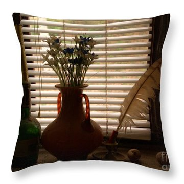 Throw Pillow featuring the photograph Composition by AmaS Art