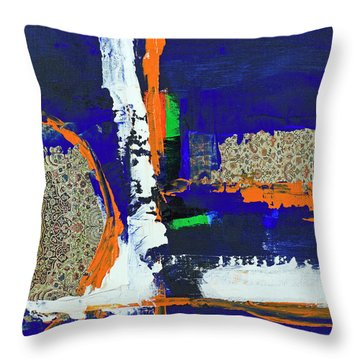 Composition Orientale No 1 Throw Pillow