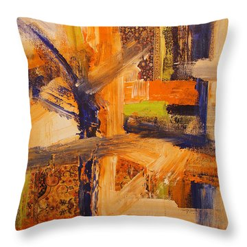 Composition Orientale No 5 Throw Pillow