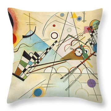 Composition Viii Throw Pillow