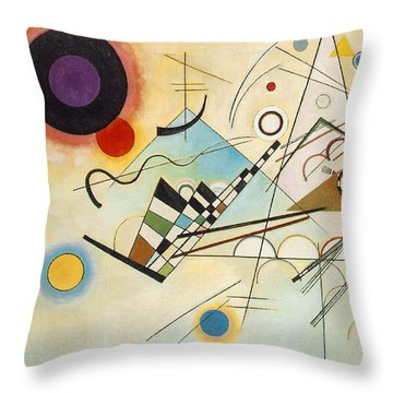 Composition Viii Throw Pillow