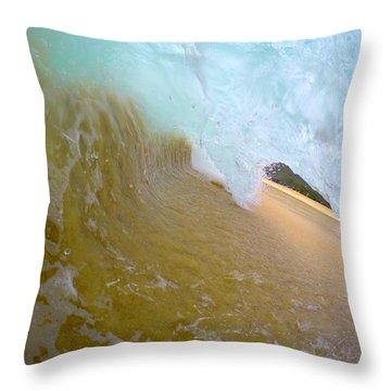 Compression Tube Throw Pillow
