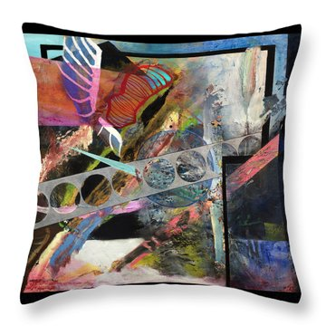 Computers Could Never Do This Throw Pillow by Antonio Ortiz