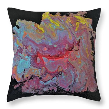 Concentrate Throw Pillow
