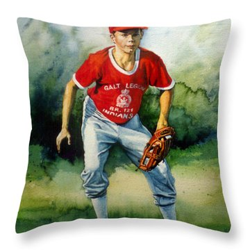 Concentration Throw Pillow by Hanne Lore Koehler