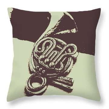 Brass Throw Pillows