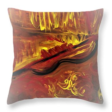 Concerto Throw Pillow