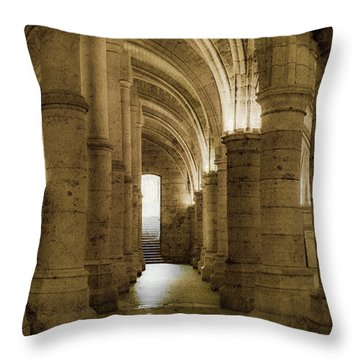 Paris, France - Conciergerie - Exit Throw Pillow