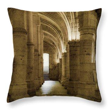 Paris, France - Conciergerie - Exit Throw Pillow