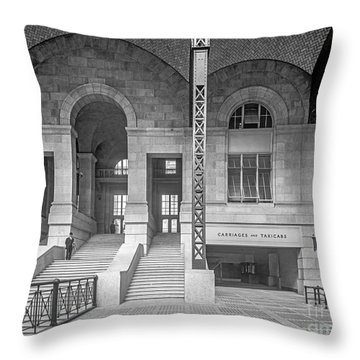 Concourse Exit To 33rd St Throw Pillow