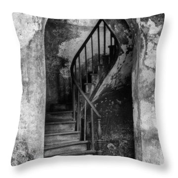 Concrete And Stairwell Throw Pillow