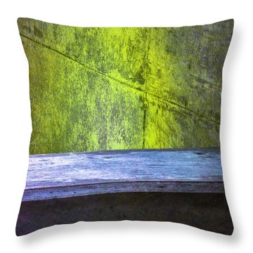 Concrete Love Throw Pillow by Raymond Kunst