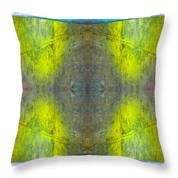 Concrete N71v2 Throw Pillow by Raymond Kunst