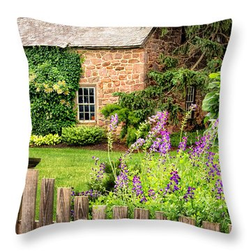 Conestoga Garden  Throw Pillow