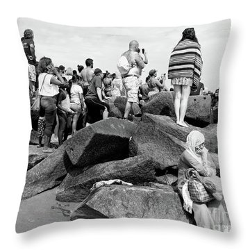Coney Island, New York  #234972 Throw Pillow