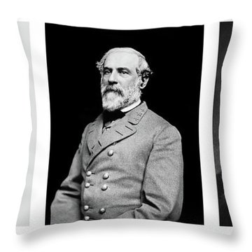 Throw Pillow featuring the photograph Confederarte Triptych by Paul W Faust - Impressions of Light