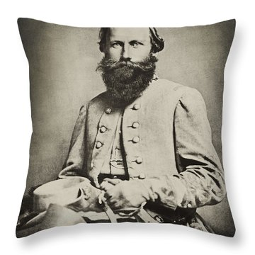 Confederate Jeb Stuart Throw Pillow by Paul W Faust -  Impressions of Light