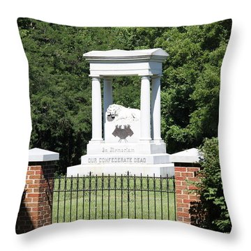 Confederate Memorial State Historic Park Throw Pillow